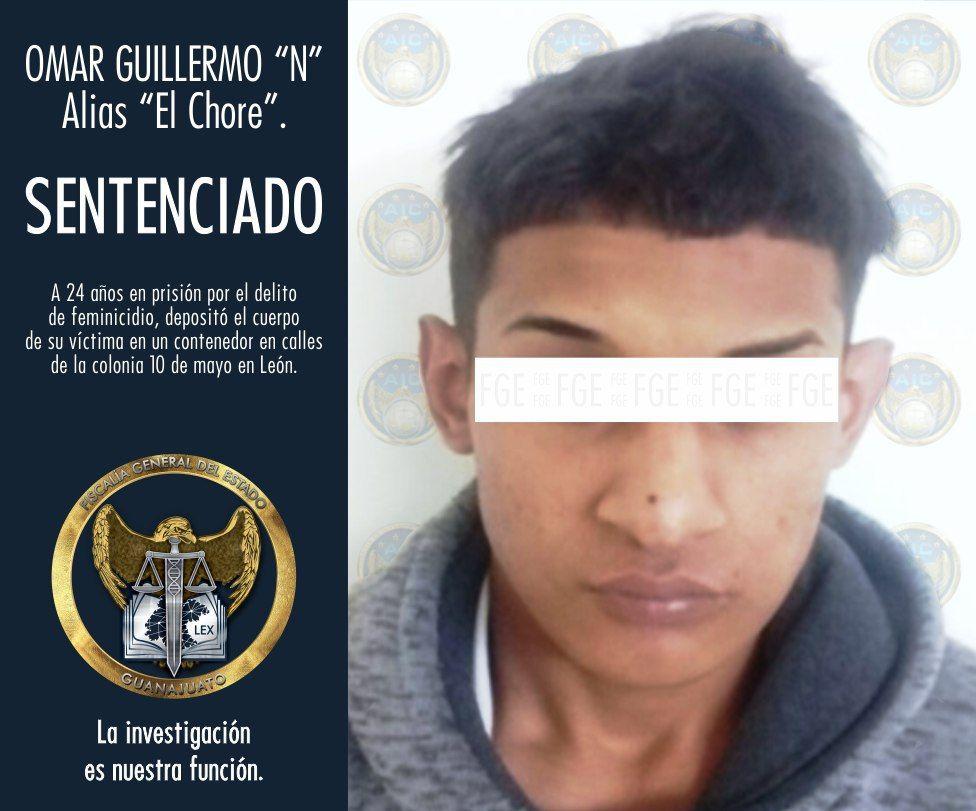 SENTENCIAN A HOMBRE A 24 AÑOS DE PRISIÓN POR FEMINICIDIO. 2