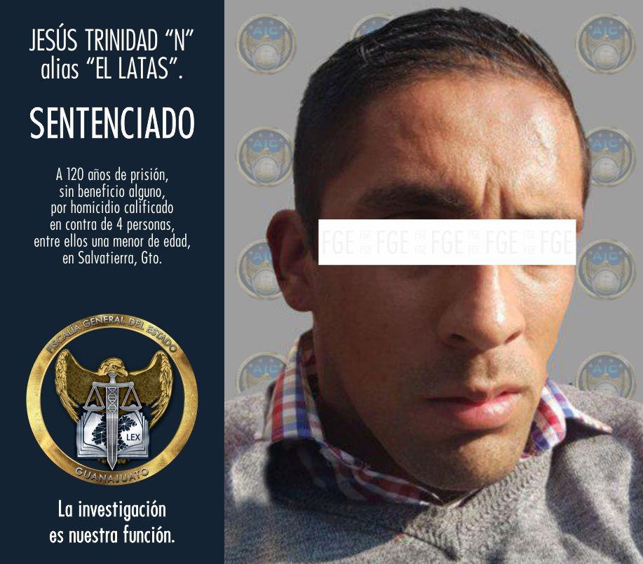 SENTENCIADO A 120 AÑOS DE PRISIÓN MULTIHOMICIDA DE SALVATIERRA. 4