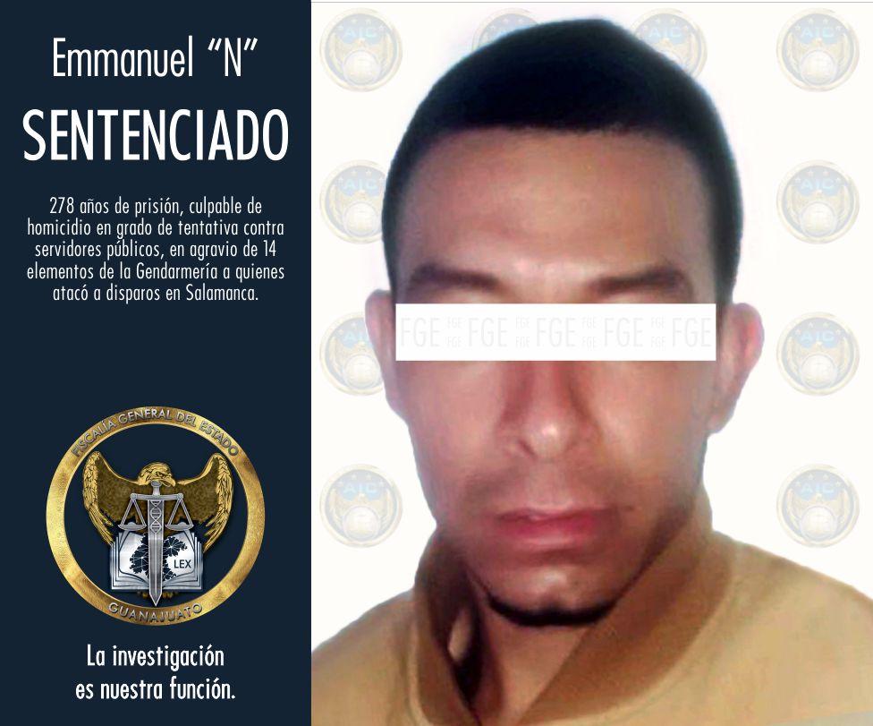 DICTAN SENTENCIA DE 278 AÑOS DE PRISIÓN A HOMBRE QUE ATACÓ A 14 POLICÍAS DE LA GENDARMERÍA. 4