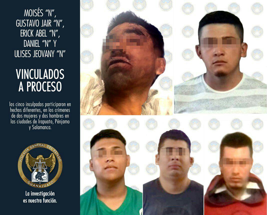 CINCO CRIMINALES ESTÁN EN PRISIÓN ACUSADOS POR LA FISCALÍA 2