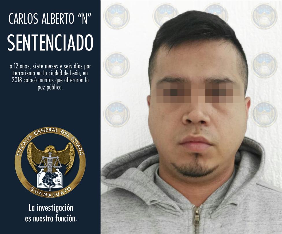 ACUSADO DE TERRORISMO, SENTENCIADO A 12 AÑOS DE PRISIÓN 4