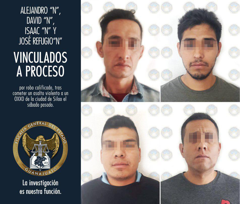 BANDA DE ASALTANTES DE OXXO'S VAN A PRISIÓN POR UN ROBO VIOLENTO EN SILAO. 4