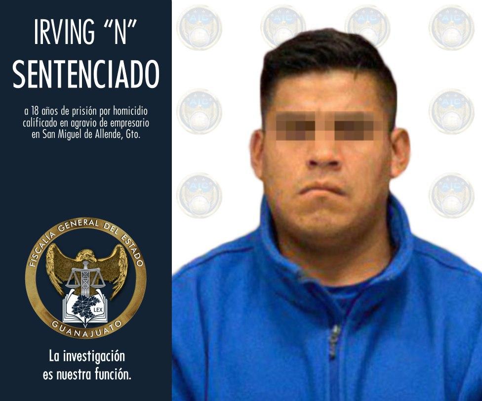 JUEZ DICTA SENTENCIA DE 18 AÑOS EN PRISIÓN A HOMICIDA DE EMPRESARIO EN SAN MIGUEL DE ALLENDE 3