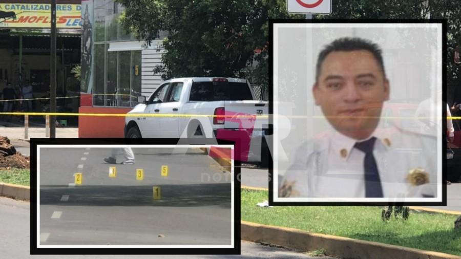 ARMAS DE DOS CALIBRES DISTINTOS, FUERON UTILIZADAS EN EJECUCIÓN DE POLICÍA DE LEON 2