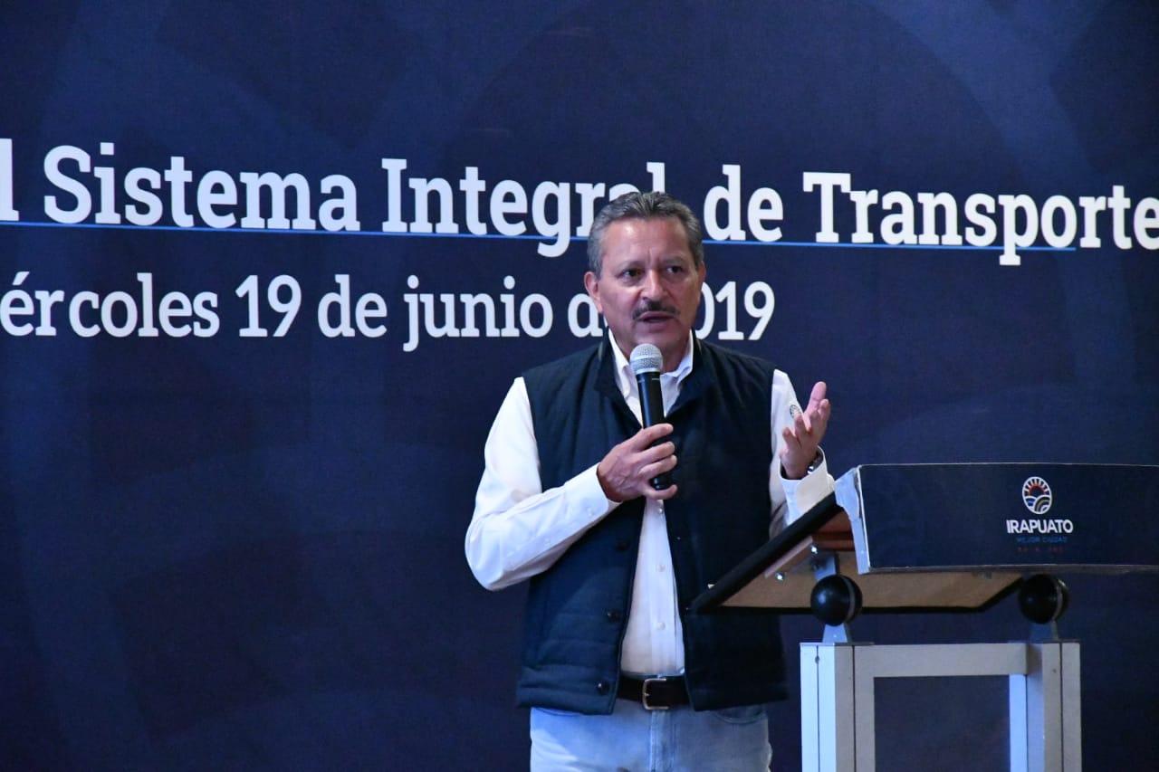PRESENTAN SISTEMA INTEGRAL DE TRANSPORTE 2