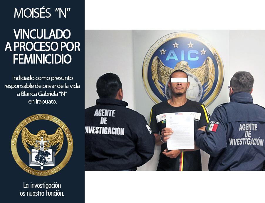 """Esclarece Fiscalía General del Estado feminicidio de Blanca Gabriela """"N""""; detiene y vincula a proceso a  MOISÉS """"N"""". 3"""
