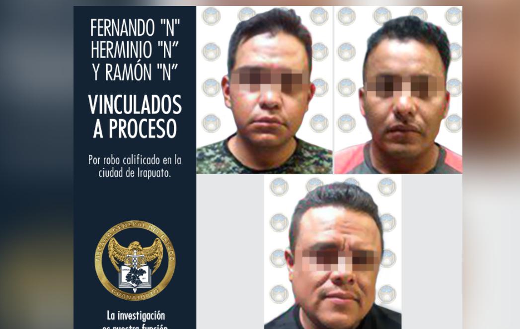 VINCULAN A PROCESO POR ROBO A TRES SUJETOS, DOS EX POLICÍAS DE IRAPUATO 4