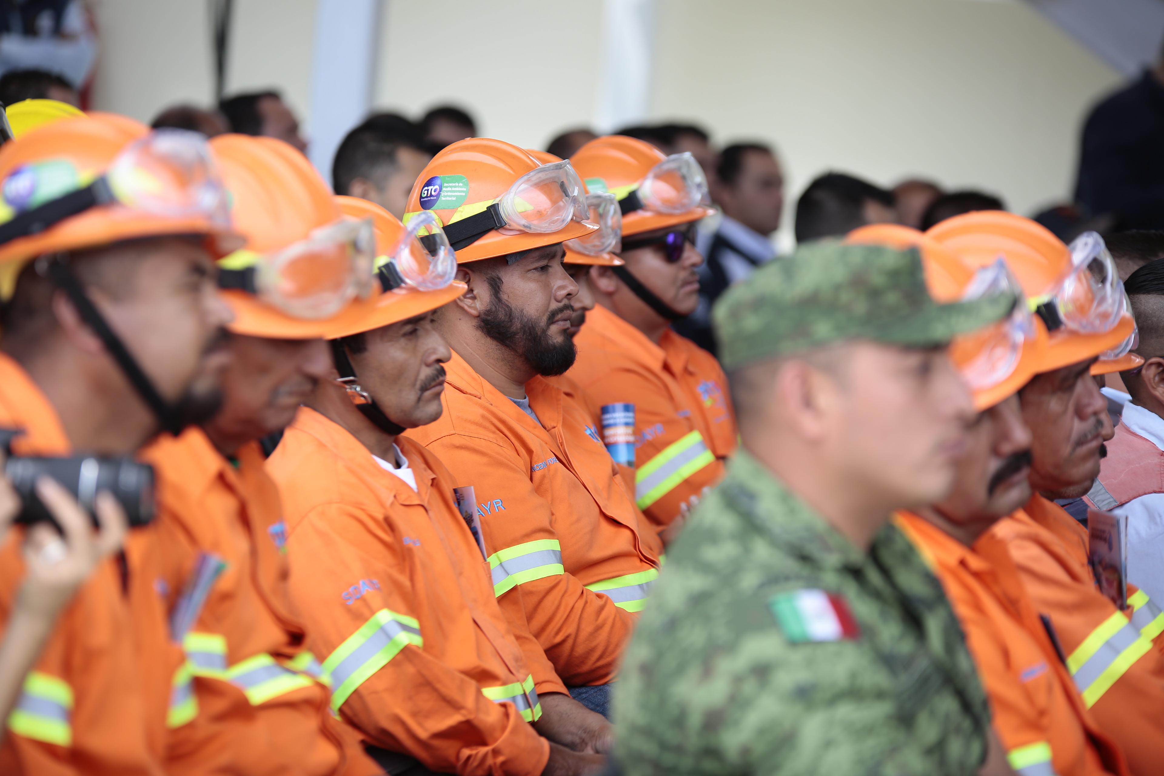 Reconocen el esfuerzo y la vocación de servicio de Brigadistas Forestales. 3