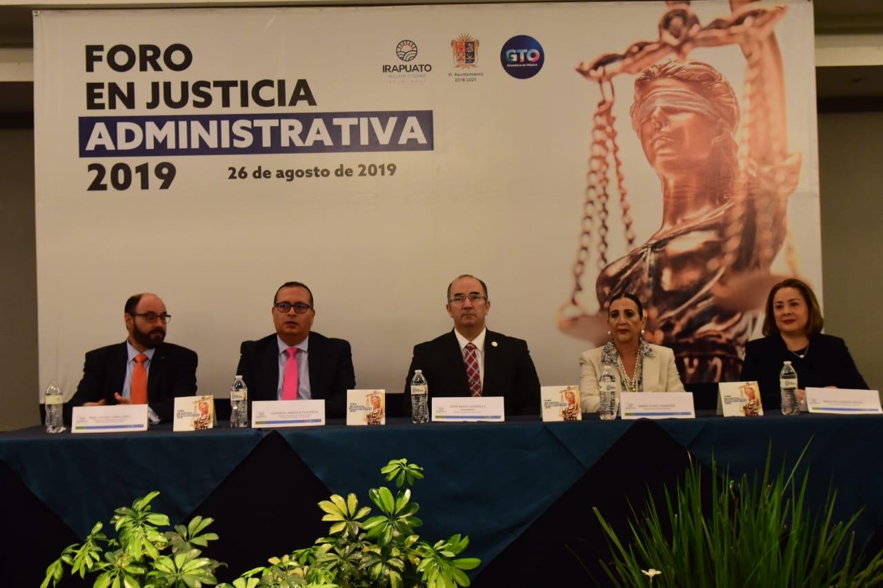 REALIZAN FORO DE JUSTICIA ADMINISTRATIVA 2