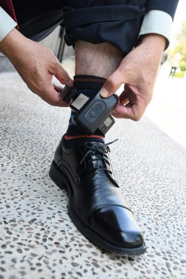 La Secretaría de Seguridad Pública del Estado presenta el programa de brazaletes localizadores 4