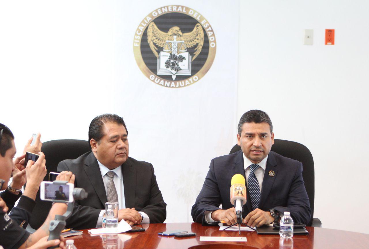 FGE anuncia la captura de 10 criminales que operaban en San Miguel de Allende y la Región. 2