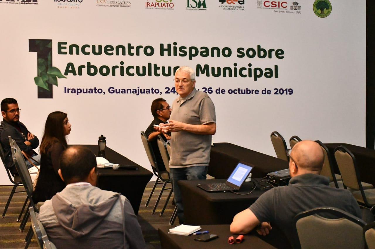 CONCLUYE PRIMER ENCUENTRO HISPANO DE ARBORICULTURA MUNICIPAL 4