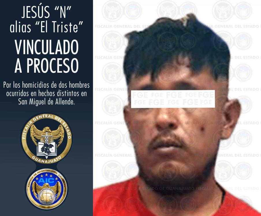 """La Fiscalía del Estado captura a """"El Triste"""", miembro de célula delictiva que operaba en San Miguel de Allende y la Región 2"""