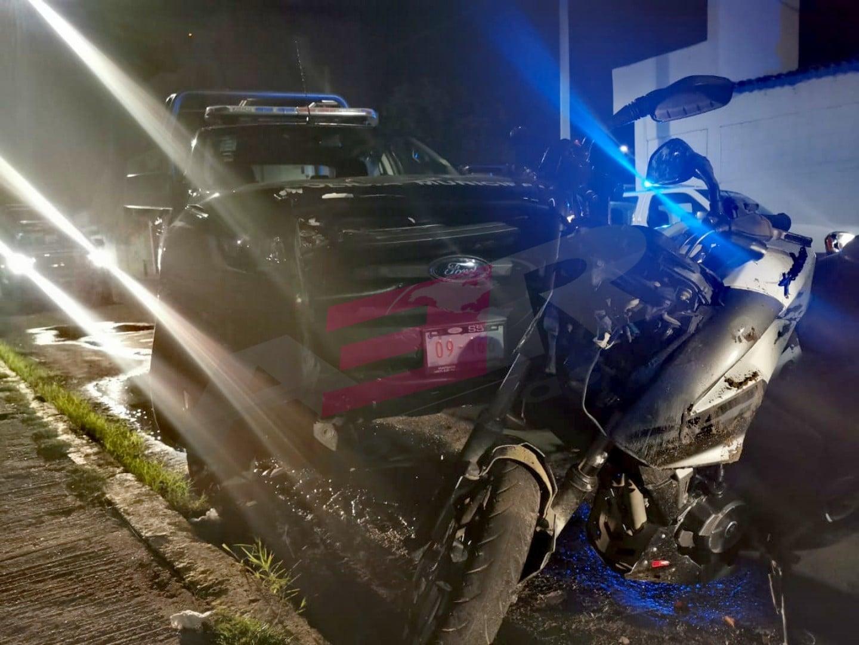 PERSECUCIÓN POLICÍACA TERMINA EN ACCIDENTE VIAL 3