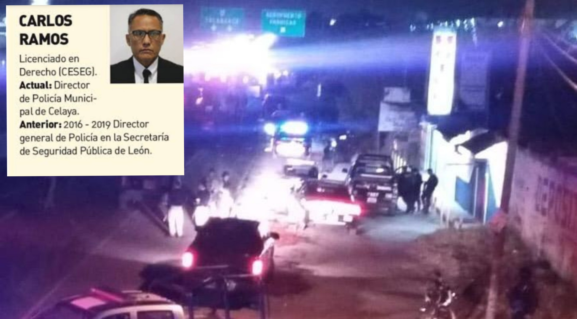 EMBOSCAN A DIRECTOR DE LA POLICÍA DE CELAYA, RESULTA ILESO. 2