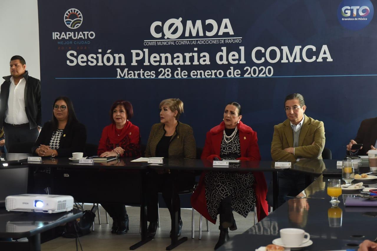 PRESENTA RESULTADOS COMITÉ CONTRA LAS ADICCIONES 1