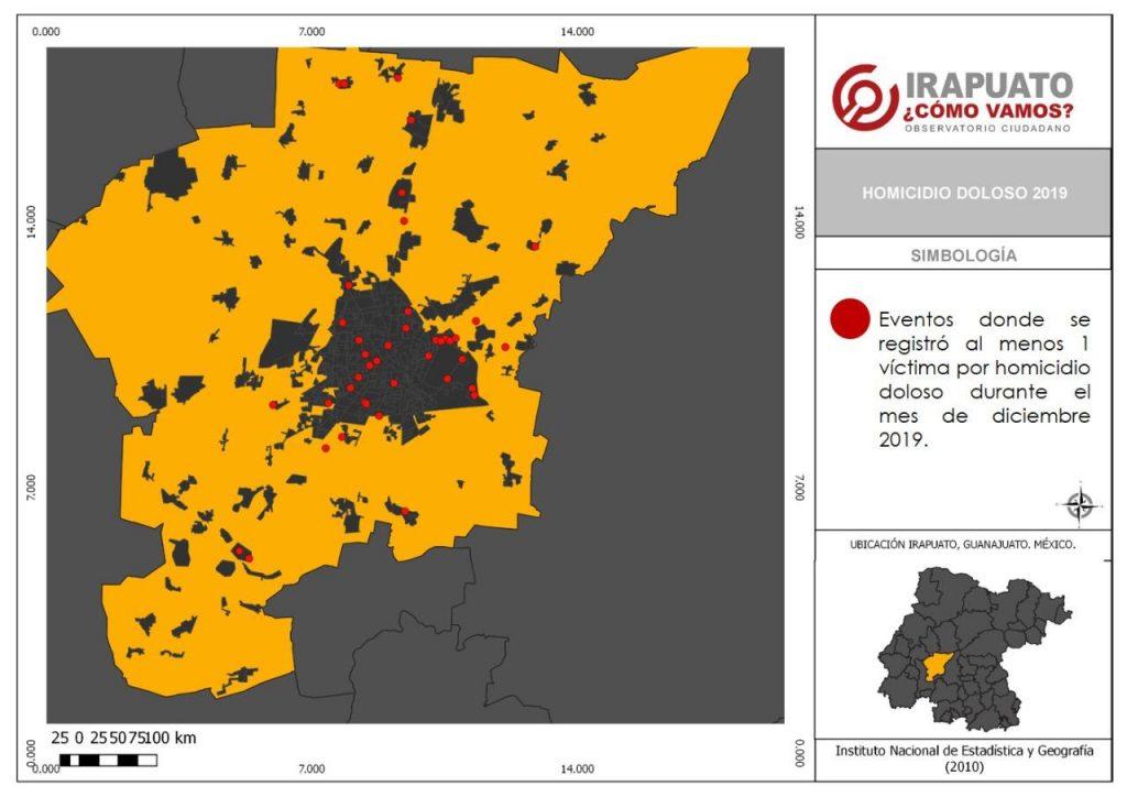 IRAPUATO REGISTRÓ 71 HOMICIDIOS EN DICIEMBRE, 21%  FUERON MUJERES. 9