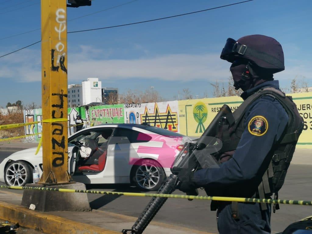 BALEAN A PAREJA CON ARMAS DE GRUESO CALIBRE, SALVAN LA VIDA. 8