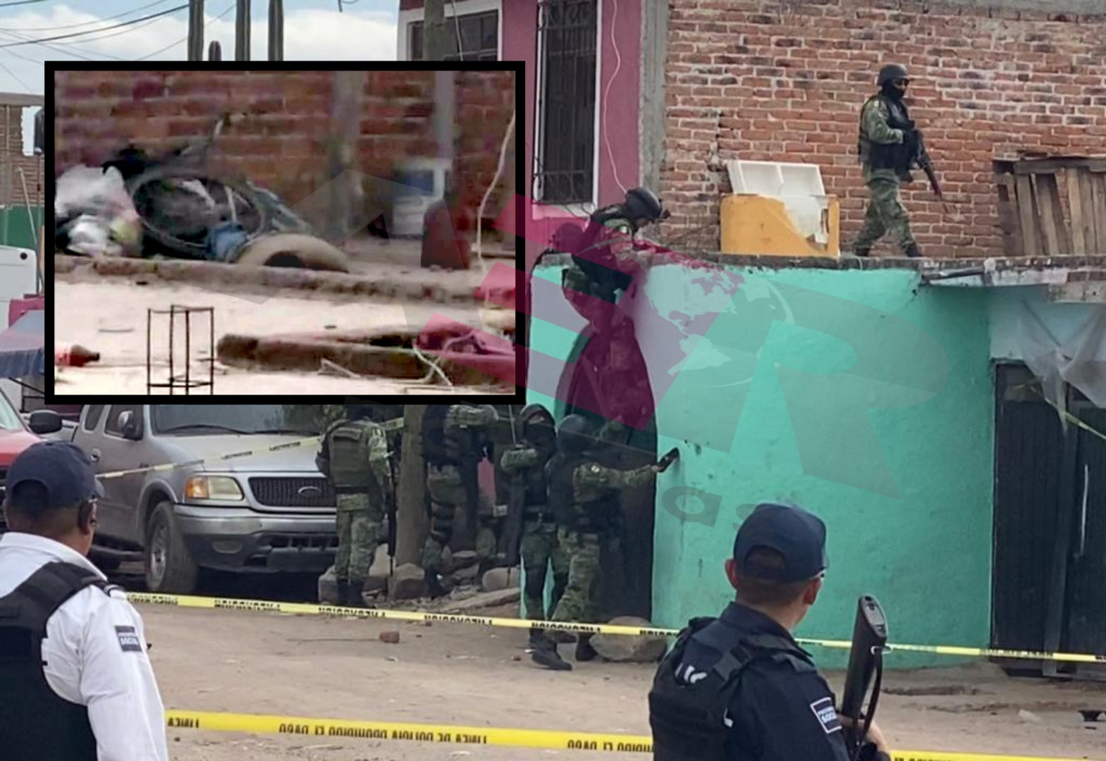 Ejecutan a dos hombres en vivienda en El Carrizalito. 2