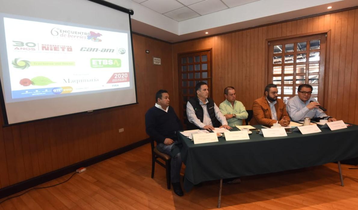 PRESENTAN SEXTO ENCUENTRO DE BERRIES DE GUANAJUATO 3