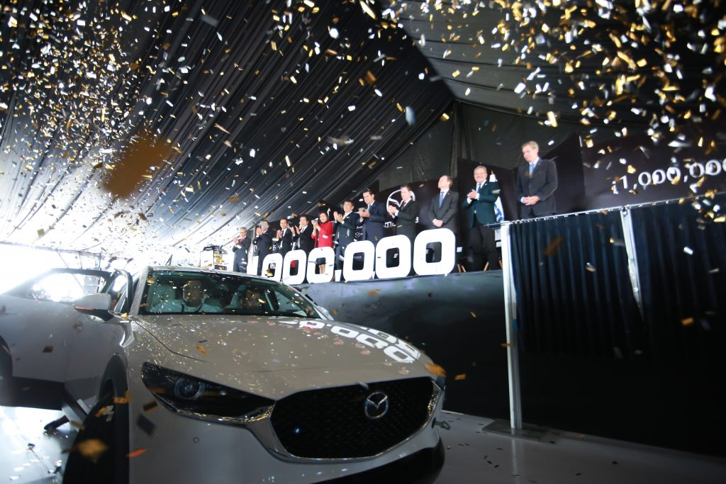 Mazda llega a 1 millón de unidades en Guanajuato. 7