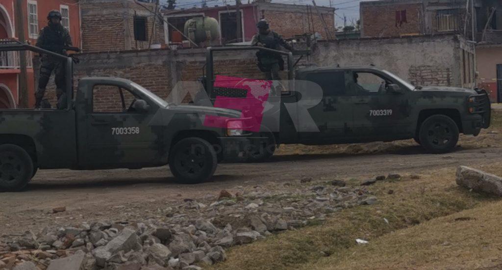 DAÑOS A VIVIENDAS Y VEHÍCULOS POR ARMA DE FUEGO Y ARTEFACTO EXPLOSIVO EN LA COLONIA AZTECA 7