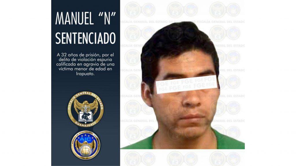 Obtiene FGE 32 años de prisión para culpable de violación en Irapuato 7