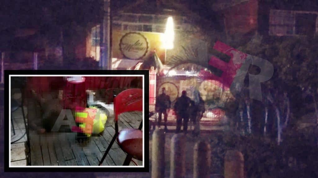 """Cuatro muertos y una mujer """"levantada"""" en bar Las Muñecas en Celaya 8"""
