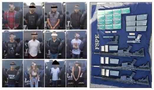 Desarticulan Peligrosa y Violenta Célula Delictiva que Operaba en León 1