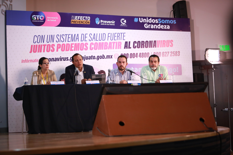 Guanajuato intensifica monitoreo para detectar COVID-19. 2