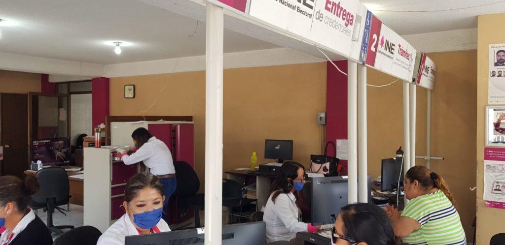 El INE cierra temporalmente los Módulos de Atención Ciudadana en el país 2