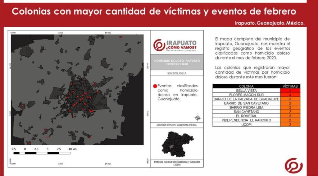 En Febrero, 45 Homicidios Dolosos se Registraron en Irapuato 8