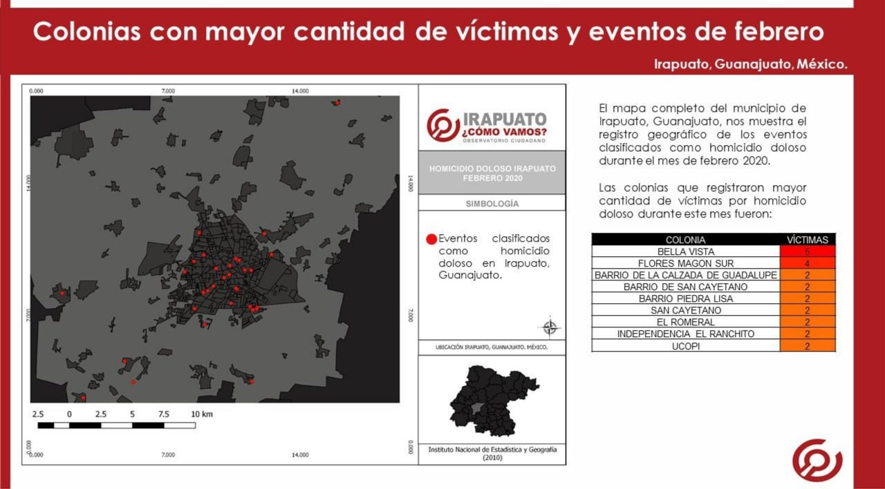 En Febrero, 45 Homicidios Dolosos se Registraron en Irapuato 4