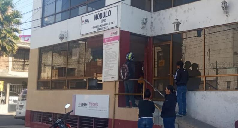 El INE cierra temporalmente los Módulos de Atención Ciudadana en el país 1