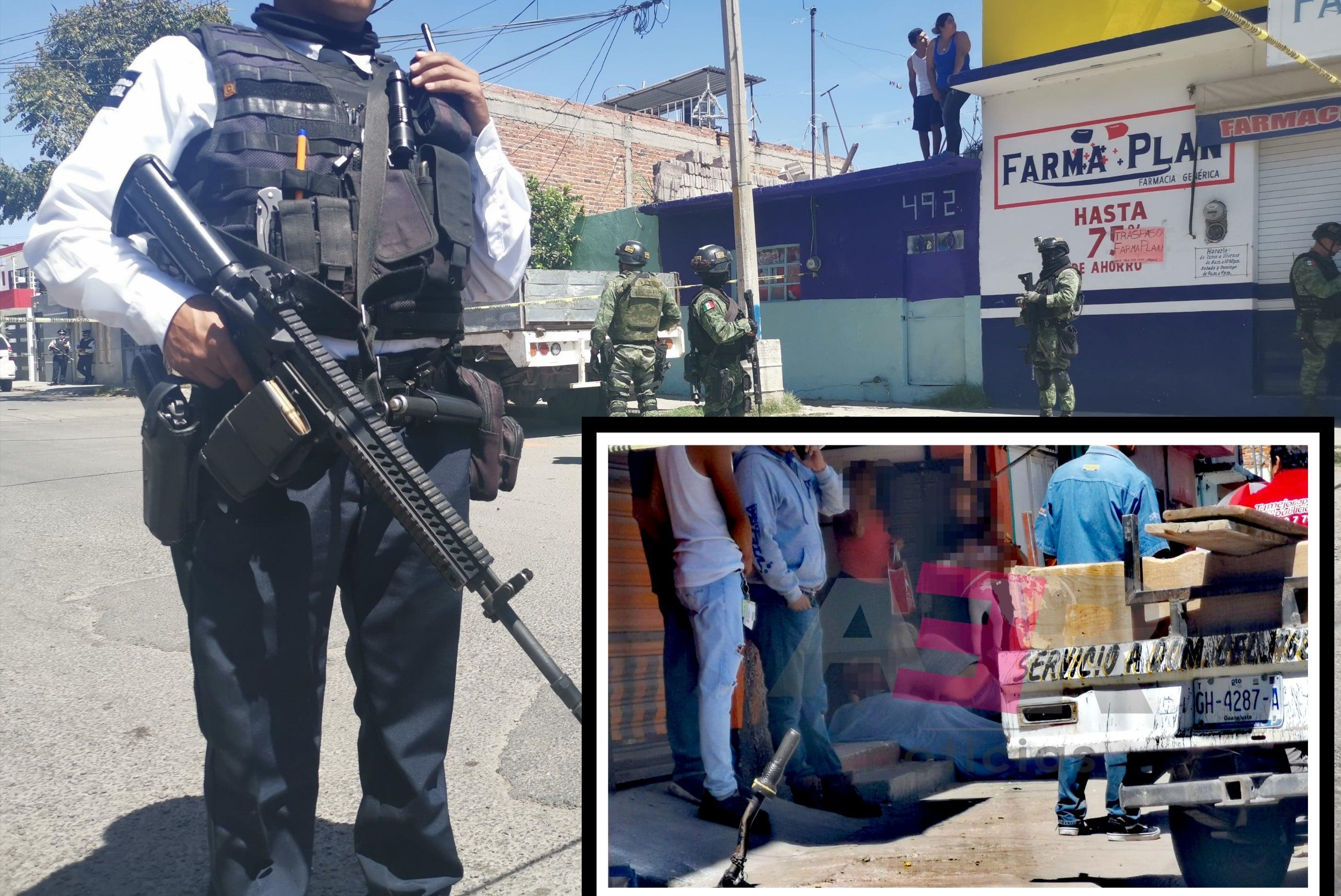 Ejecutan a hombre en tortillería en la colonia Plan Guanajuato 1