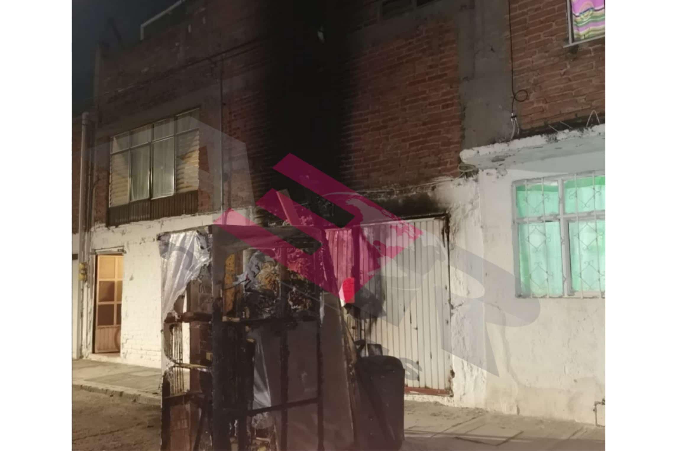 Muere tapicero  de 68 años en incendio. 2