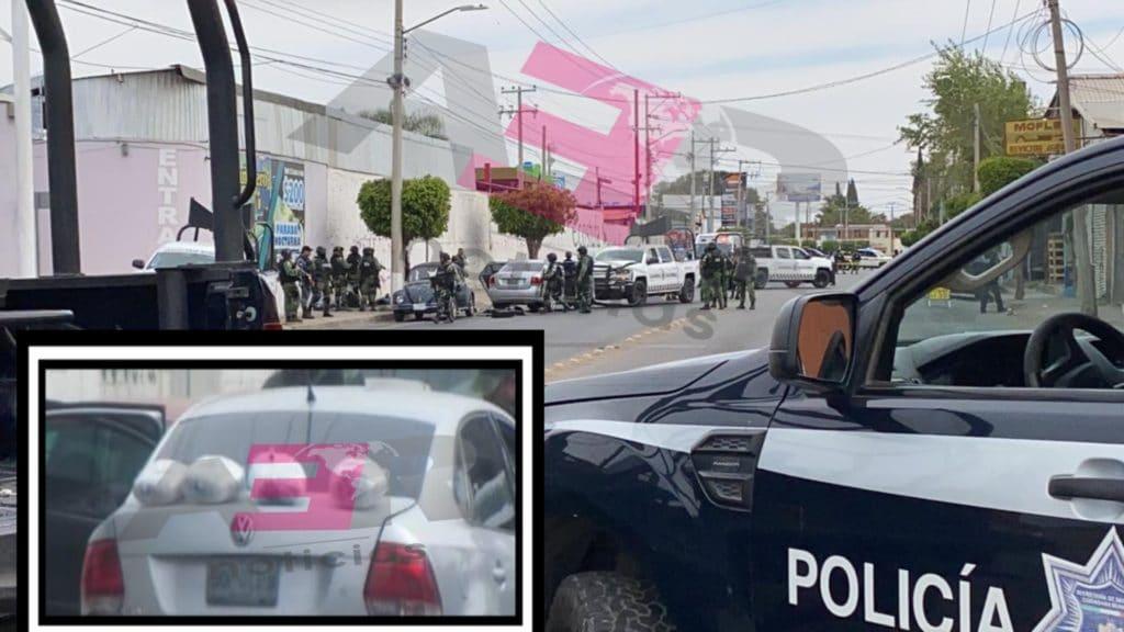 Persecución de la Guardia Nacional Resulta en Choque, Tres Detenidos y Cuatro Paquetes Asegurados 9