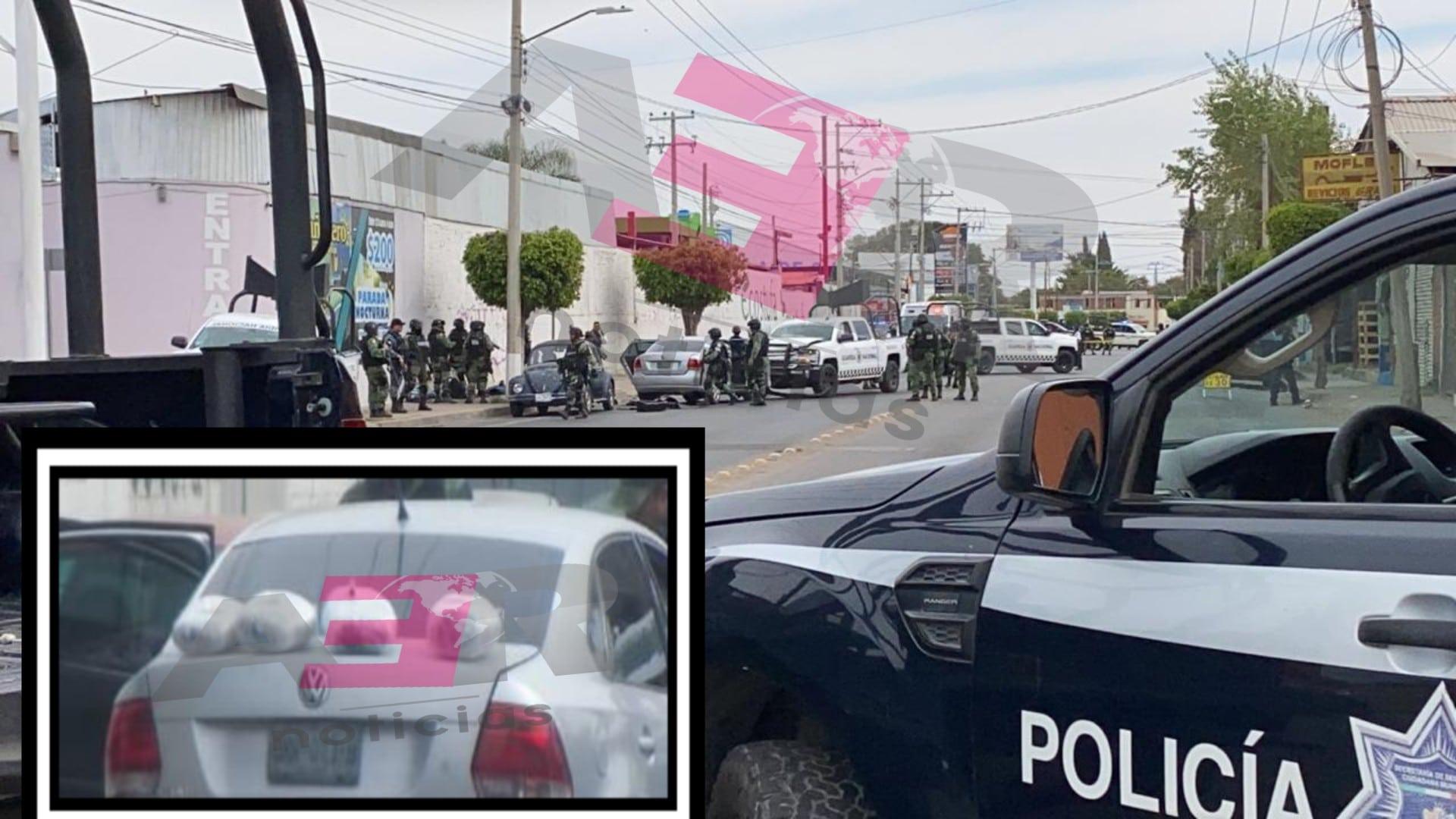 Persecución de la Guardia Nacional Resulta en Choque, Tres Detenidos y Cuatro Paquetes Asegurados 3