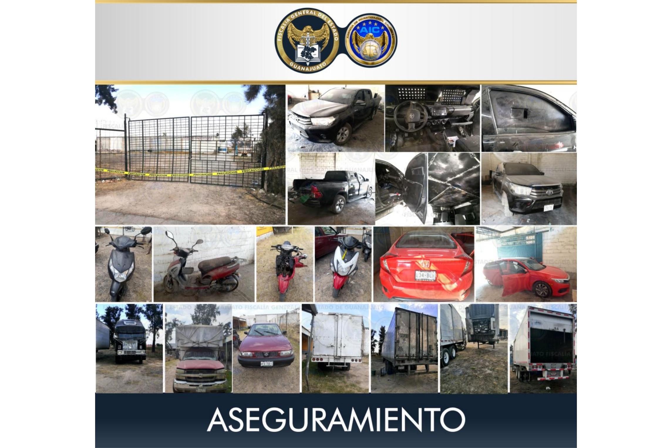 Asegura la FGE automotores con blindaje artesanal y con mercancía robada. 2