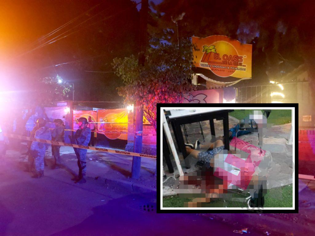 """Dos muertos y cuatro heridos en """"El Oasis de la Cruz"""" 8"""