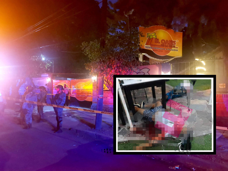 """Dos muertos y cuatro heridos en """"El Oasis de la Cruz"""" 2"""