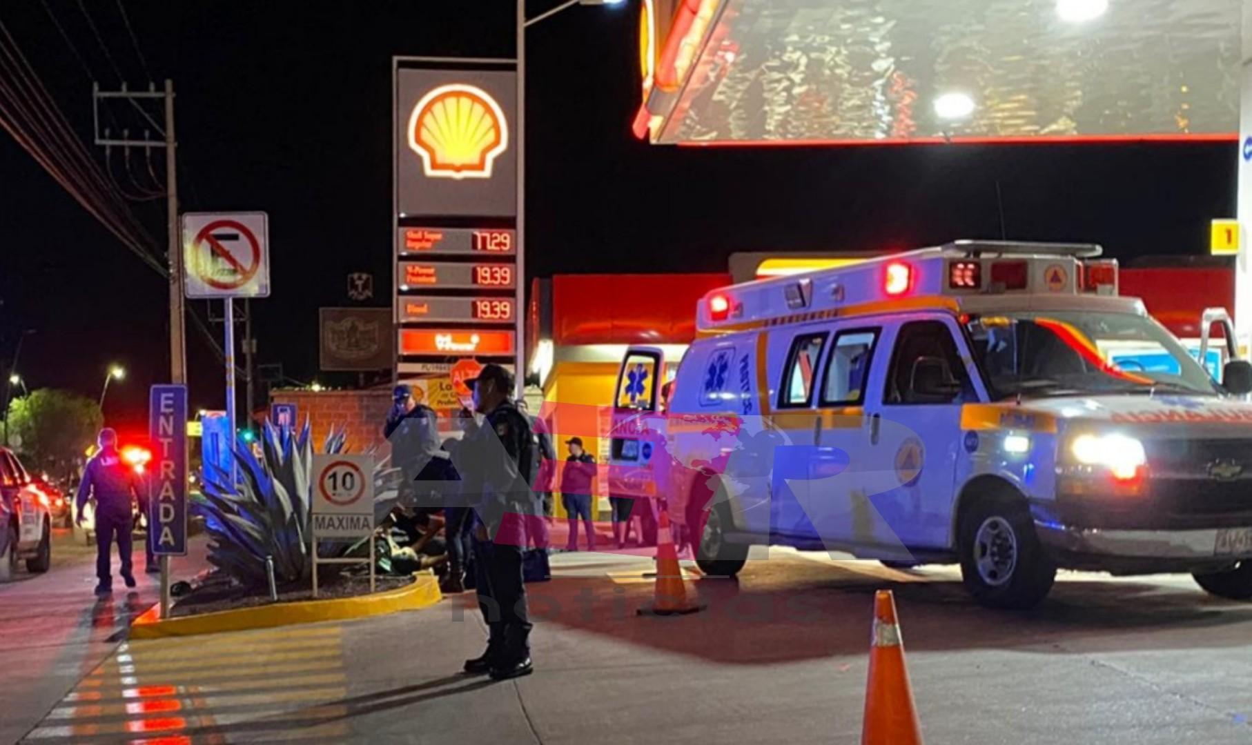 Muere hombre que fue baleado en el boulevard Solidaridad, en Gasolinera. 2