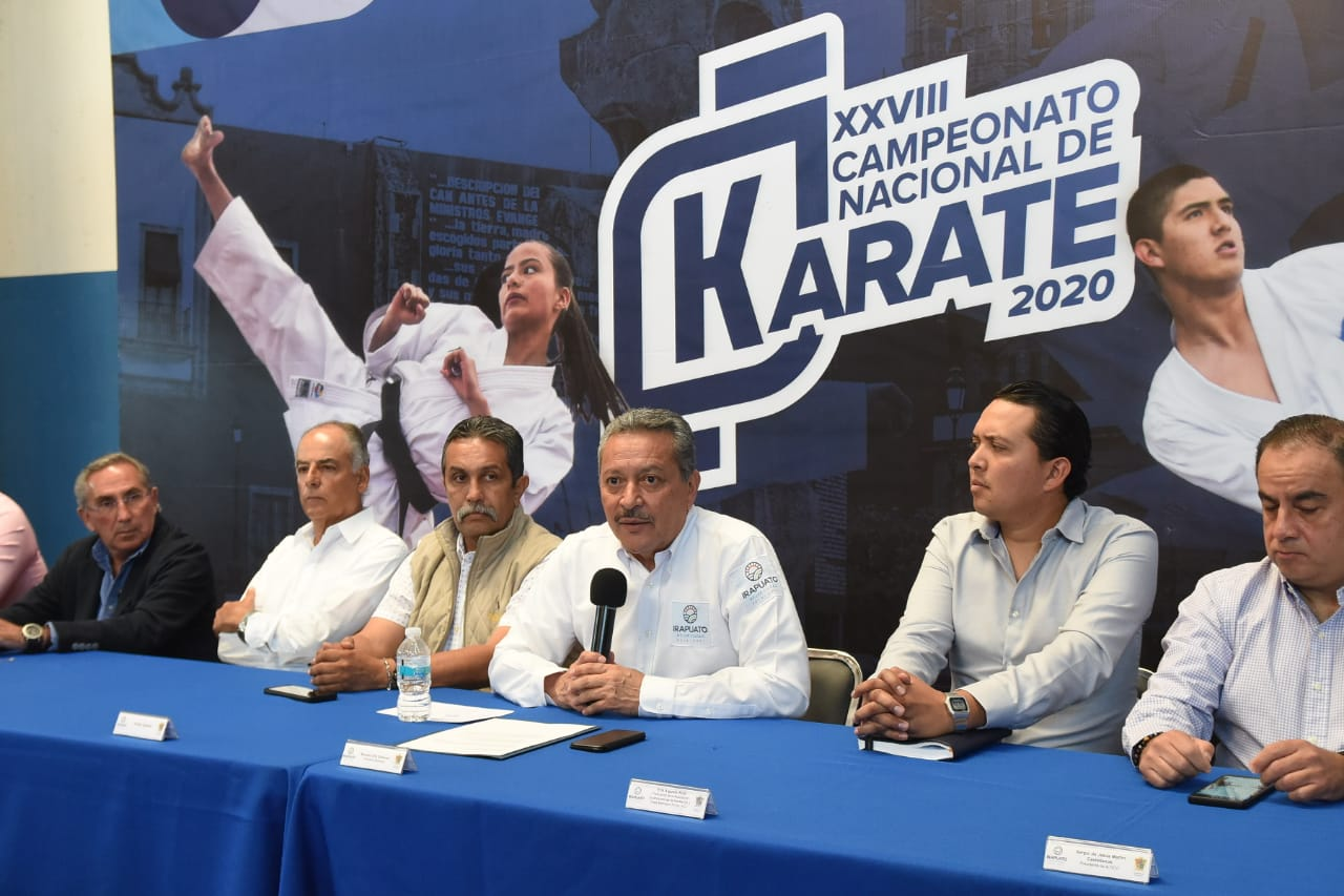RECIBIRÁ IRAPUATO  XXVIII CAMPEONATO NACIONAL DE KARATE 4