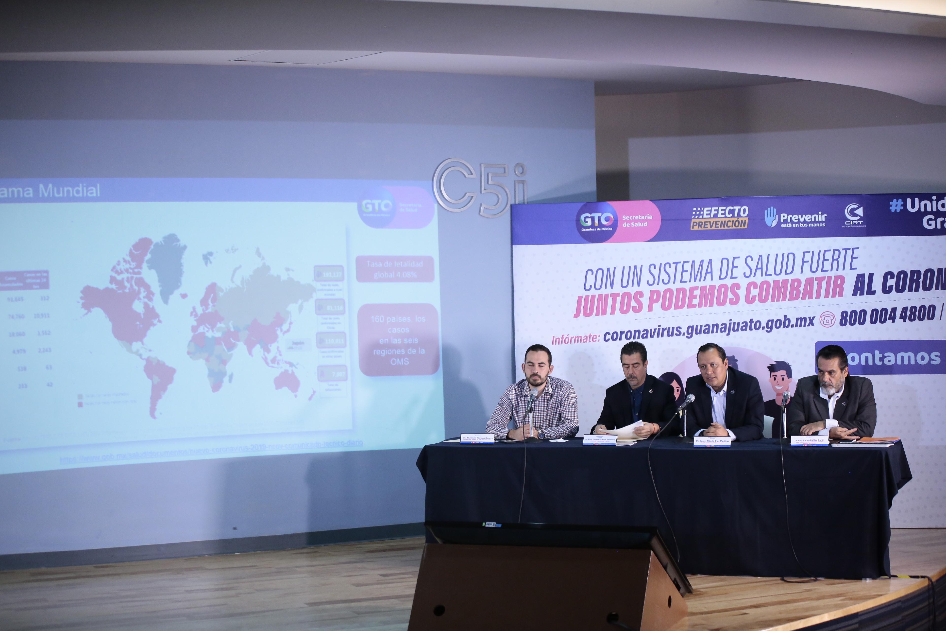 Guanajuato se mantiene en Fase Uno, sin trasmisión comunitaria de COVID-19. 2