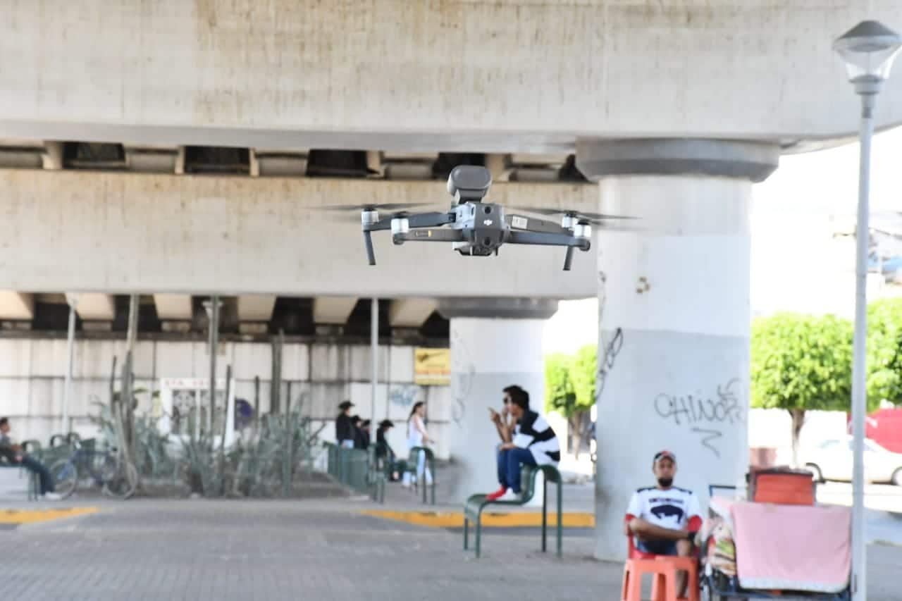 USARÁN DRONES  EN CONTINGENCIA SANITARIA 3