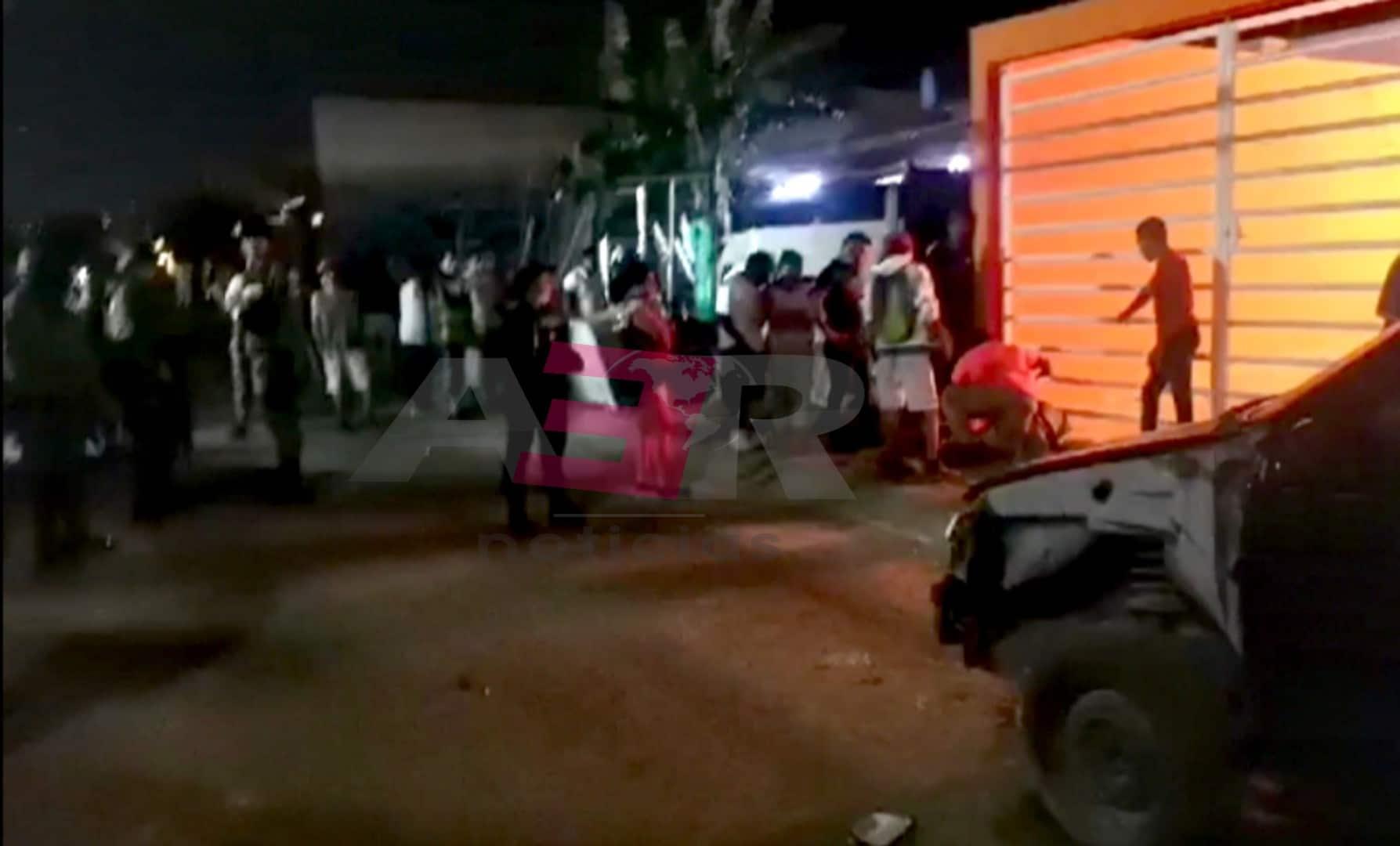 Dos muertos y una menor lesionada en intensa balacera en Villas de San Cayetano. 5
