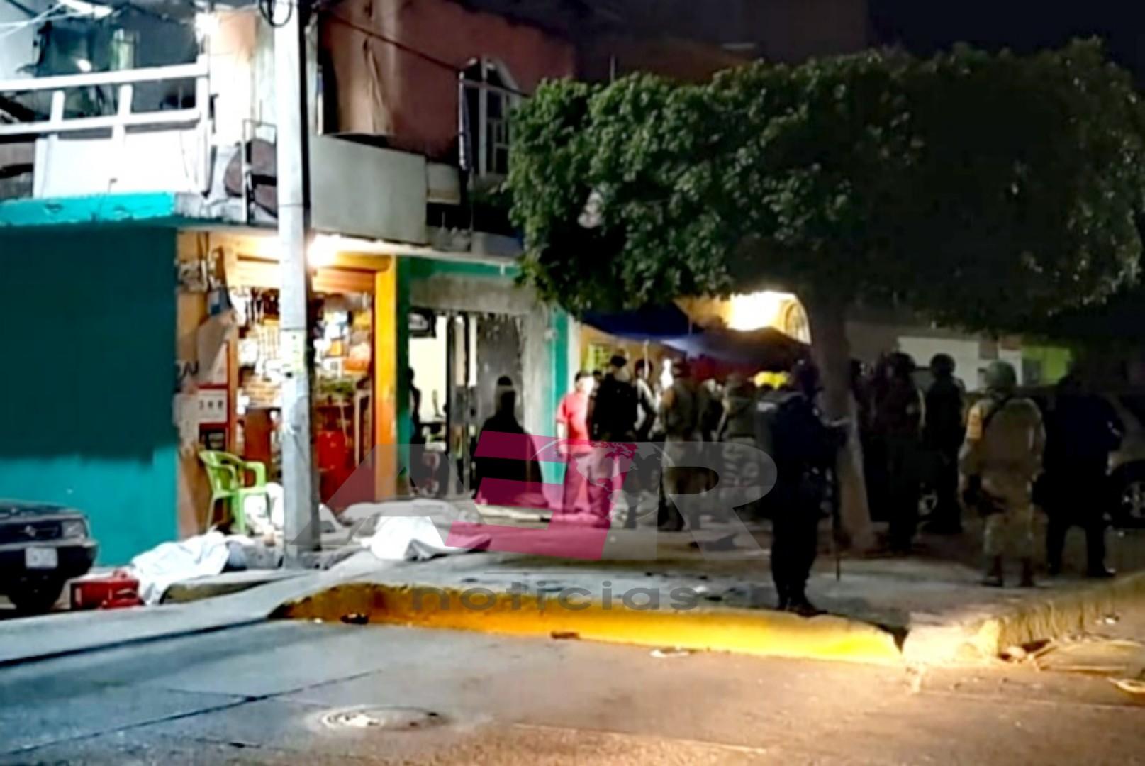 Cuatro muertos y tres lesionados deja ataque armado en Salamanca 1