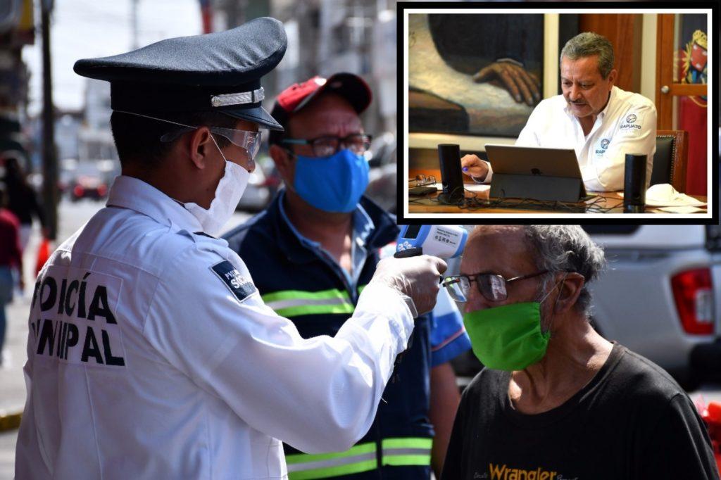 Multa de mil 42 pesos por no usar cubrebocas en lugares públicos. 7