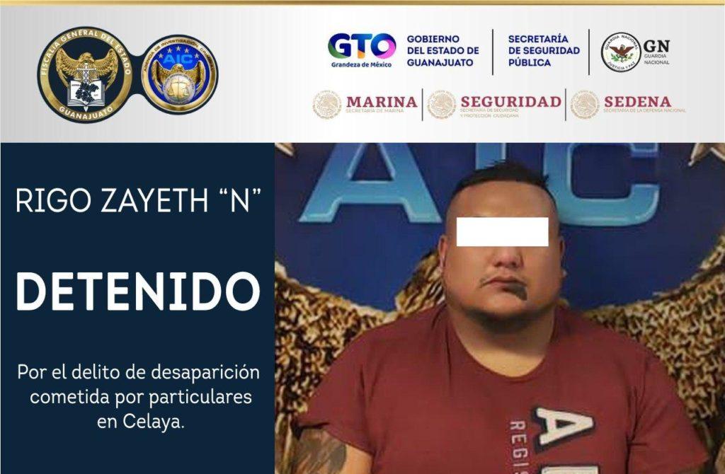 En Querétaro, captura la Fiscalía de Guanajuato a acusado de la desaparición de dos Celayenses. 7