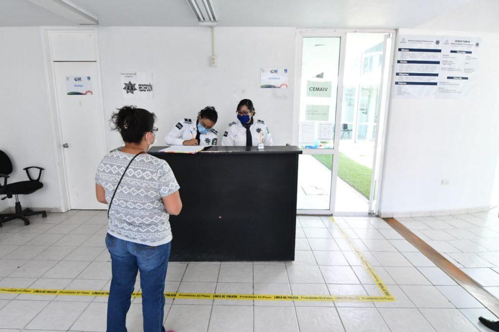 ATIENDEN POLICÍAS ESPECIALIZADOS REPORTES DE CIUDADANOS EN CONTINGENCIA 8